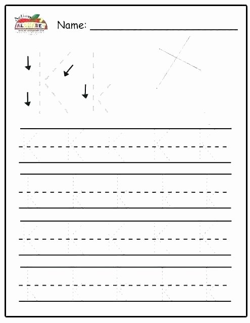 Missing Alphabet Worksheets Kindergarten Alphabet Worksheets Best Letter 0 Unique