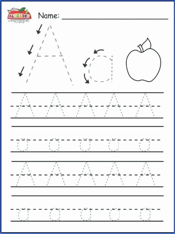 Missing Letter Alphabet Worksheets Worksheets for Kindergarten Alphabet Tracing Printable
