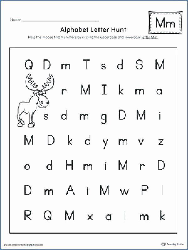 Missing Letters Worksheet for Kindergarten Abc Worksheets for toddlers