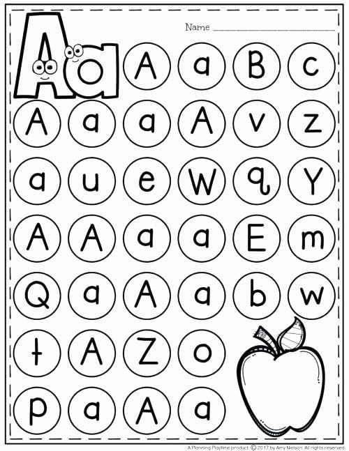 Missing Letters Worksheet for Kindergarten Alphabet Letters Worksheets