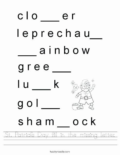 Missing Letters Worksheet for Kindergarten Alphabet Worksheets for Kindergarten Full Size Writing