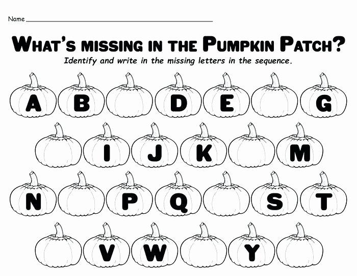 Missing Letters Worksheets for Kindergarten Alphabet Worksheets