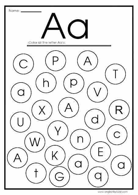 Missing Letters Worksheets for Kindergarten to Print This Worksheet Printable Missing Alphabet
