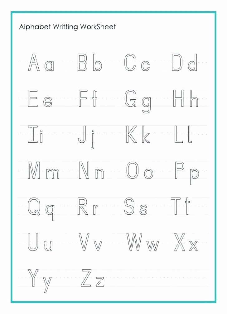 Missing Letters Worksheets Pdf Alphabet Worksheets for Kindergarten Pdf