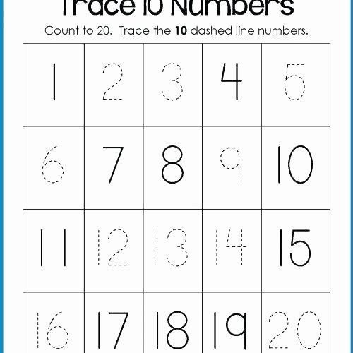 Missing Number Worksheet for Kindergarten Worksheets for Preschool Free Printable Counting