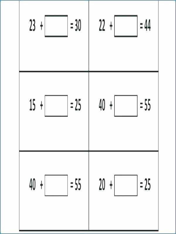Missing Number Worksheet Kindergarten Missing Number Worksheets 2nd Grade