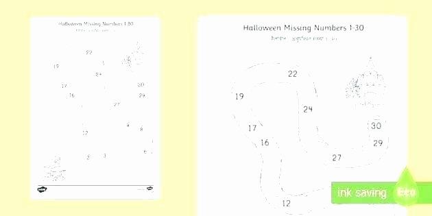 Missing Number Worksheets 1 10 Pre K Number Worksheets