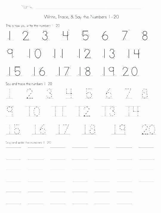 Missing Number Worksheets 1 20 Counting Worksheets 1 Printable Free 20