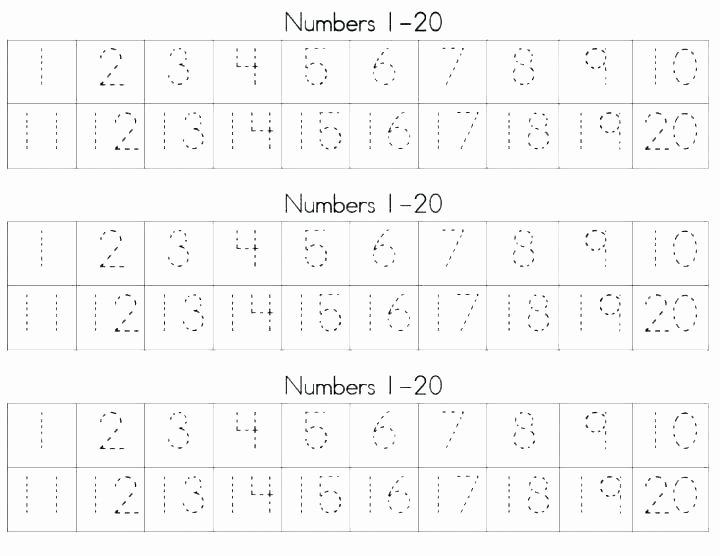 Missing Number Worksheets 1 20 Learning Numbers 1 20 Worksheets