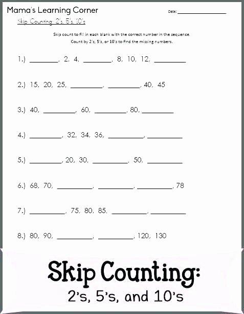 Missing Number Worksheets 1 20 Missing Number Worksheets 2nd Grade