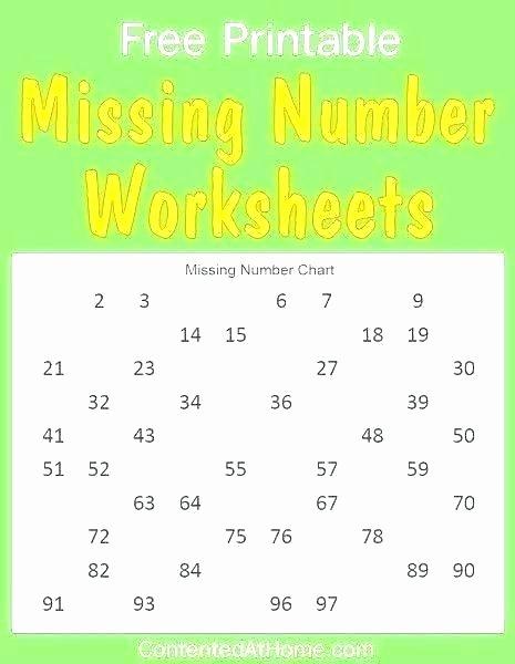 Missing Number Worksheets Kindergarten Missing Number Worksheets 1 10 – Dstic
