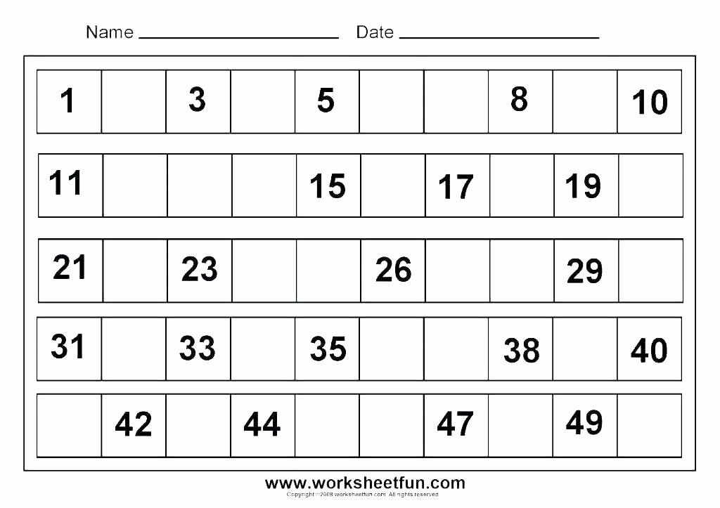 Missing Numbers Addition Worksheets New Valentines Printable Worksheets Free Counting 1 Skip by to