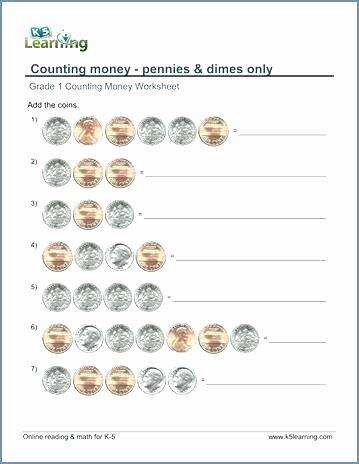 Money Worksheets 3rd Grade New Money Math Printable Money Math Worksheets Paring for