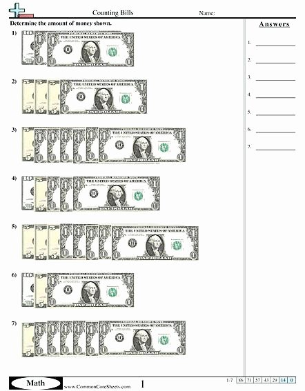 Money Worksheets for 3rd Grade Making Change Worksheets 3rd Grade – Leonpattersonub