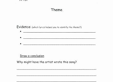 Mood Worksheets for Middle School Elegant theme Worksheets
