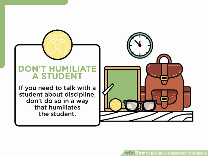 Multi Step Directions Worksheets Unique 6 Ways to Maintain Classroom Discipline Wikihow