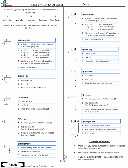 Multi Step Directions Worksheets Unique Cheat Sheets