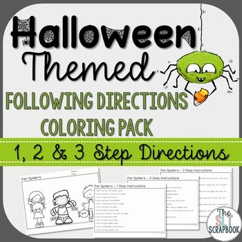 Multi Step Directions Worksheets Unique Following Directions Coloring Worksheets & Teaching