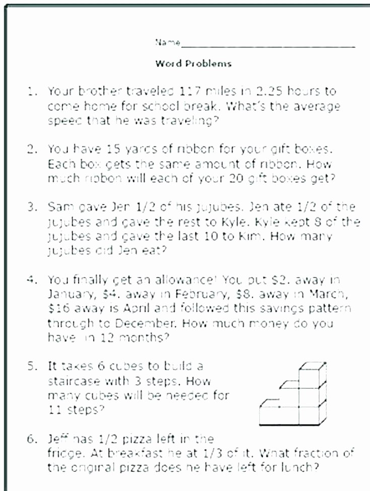 Multi Step Word Problems Worksheets Multi Step Word Problems Worksheets – Propertyrout