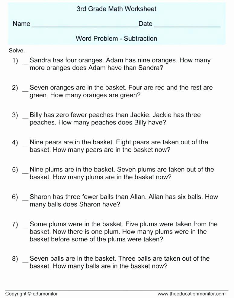 Multi Step Word Problems Worksheets Multiple Step Word Problems 3rd Grade Worksheets – Primalvape