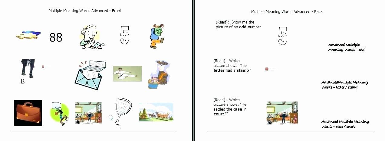 Multiple Meaning Words Worksheet Multiple Meaning Words Worksheets 7th Grade