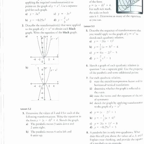 Multiple Transformations Worksheets Algebra 1 Fun Worksheets – Owobox