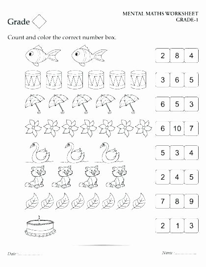 Multiplication Repeated Addition Worksheets Mental Maths Worksheets for Class 1