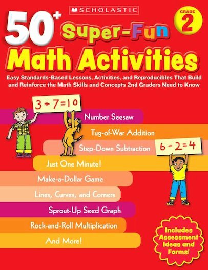Multiplication Strategies Posters 50 Super Fun Math Activities Grade 2 Scholastic Shop
