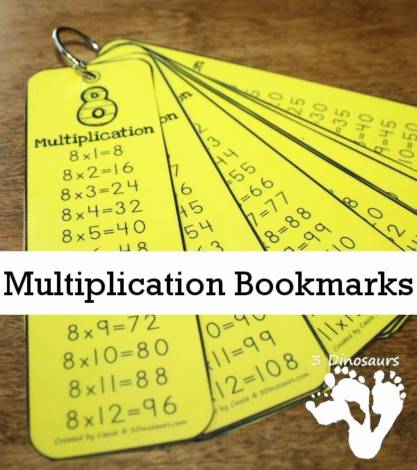 Multiplication Strategies Posters Free Multiplication Bookmarks Math Facts