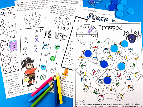 Multiplication Strategies Posters Three Easy Ways to Achieve Multiplication Fact Fluency