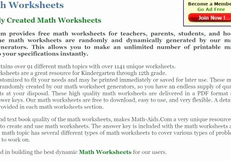 Multiplication Worksheet Generator Free Math Worksheet Generator Addition Free