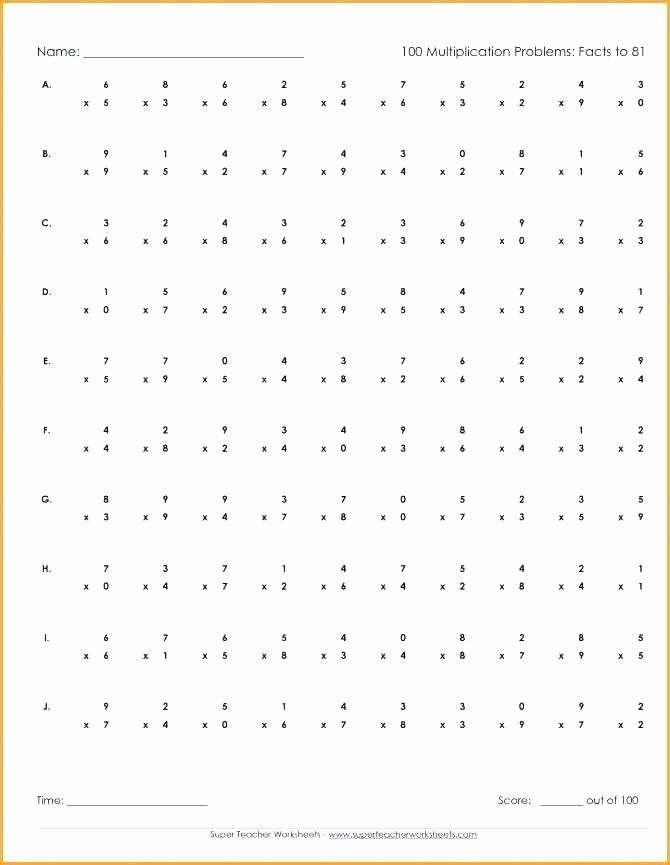 Multiplication Worksheets 0 12 Printable Multiplication by 12 Worksheets
