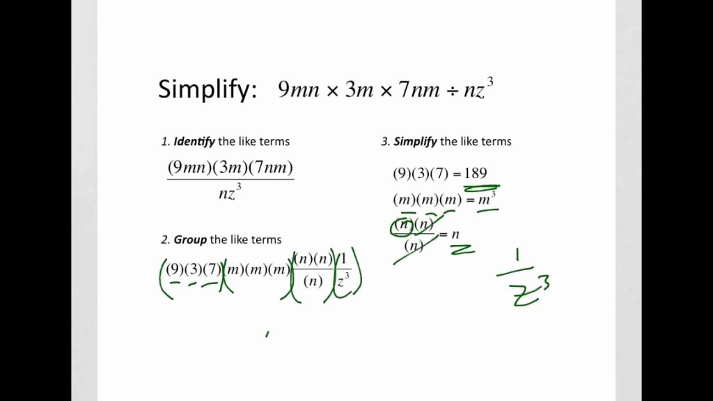 Multiplying and Dividing Fractions Kuta Multiplication and Division Algebraic Fractions Worksheet