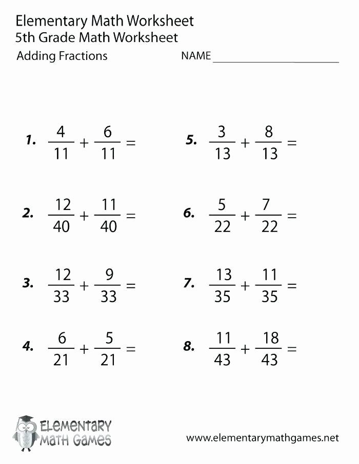 Multiplying Fractions Worksheet 6th Grade 6th Grade Math Worksheets with Answers