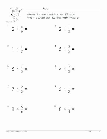 Multiplying Fractions Worksheet 6th Grade 6th Grade Multiplication Worksheets