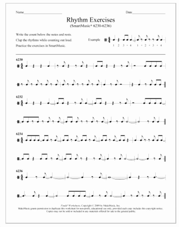 Music Counting Worksheets Youngsoon Yoon Puresoon74 On Pinterest