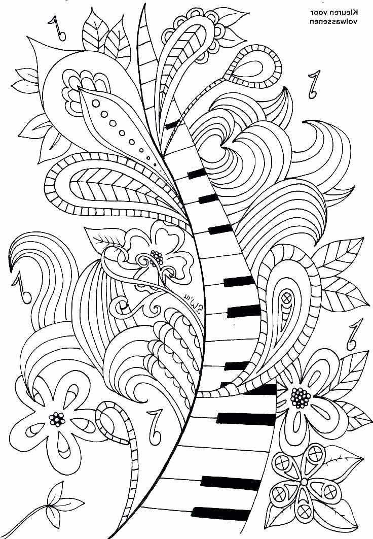 Music theory Coloring Pages Free Music Coloring Pages – Flower Grower