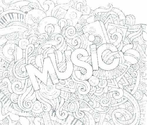 Music theory Coloring Pages Free Music Coloring Pages – Indiansnacks