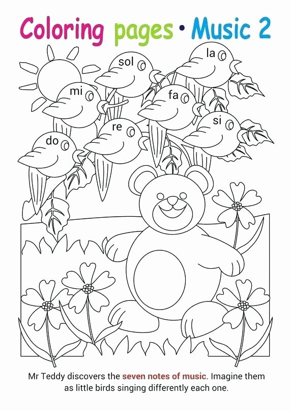 Music theory Coloring Pages Music Activity Coloring Pages – Lifewiththepeppers