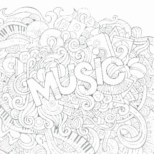 Music theory Coloring Pages Music theory Coloring Pages – Picsartapp