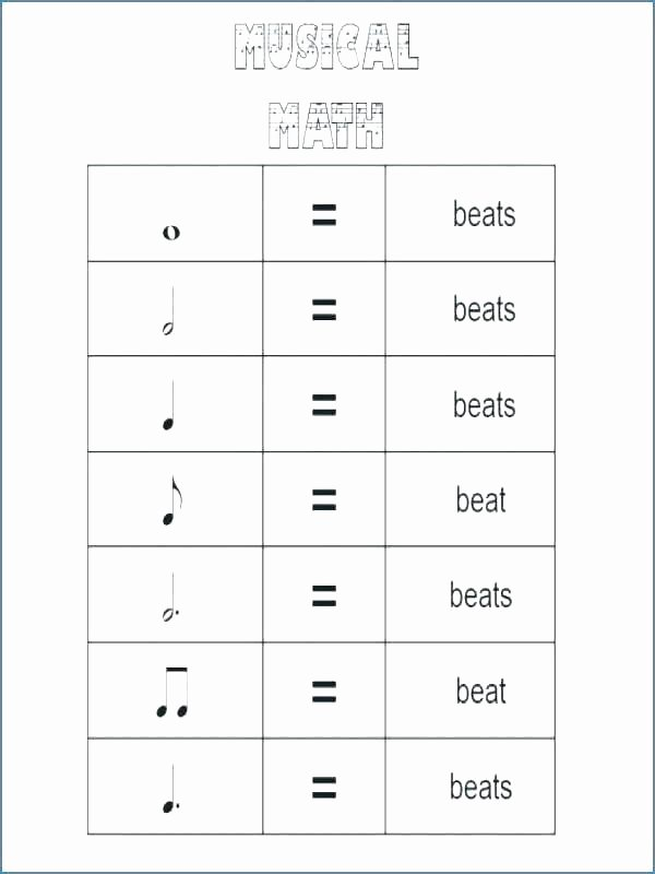 Music theory Worksheet for Kids Free Printable Music theory Worksheets