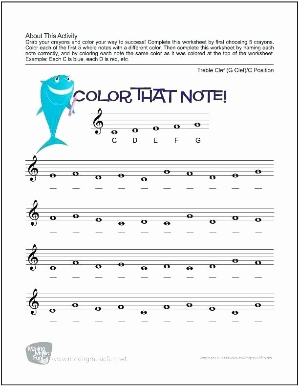 Music theory Worksheet for Kids Music solfege Worksheets