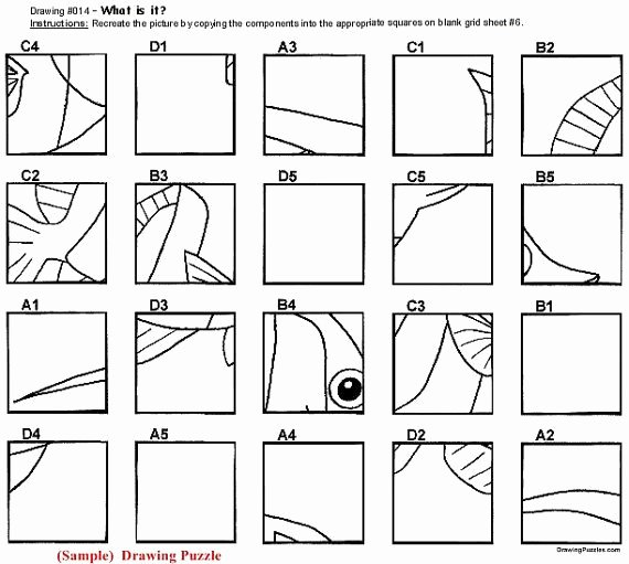 Mystery Grid Pictures Best Of Mystery Grid Drawing Worksheets at Paintingvalley