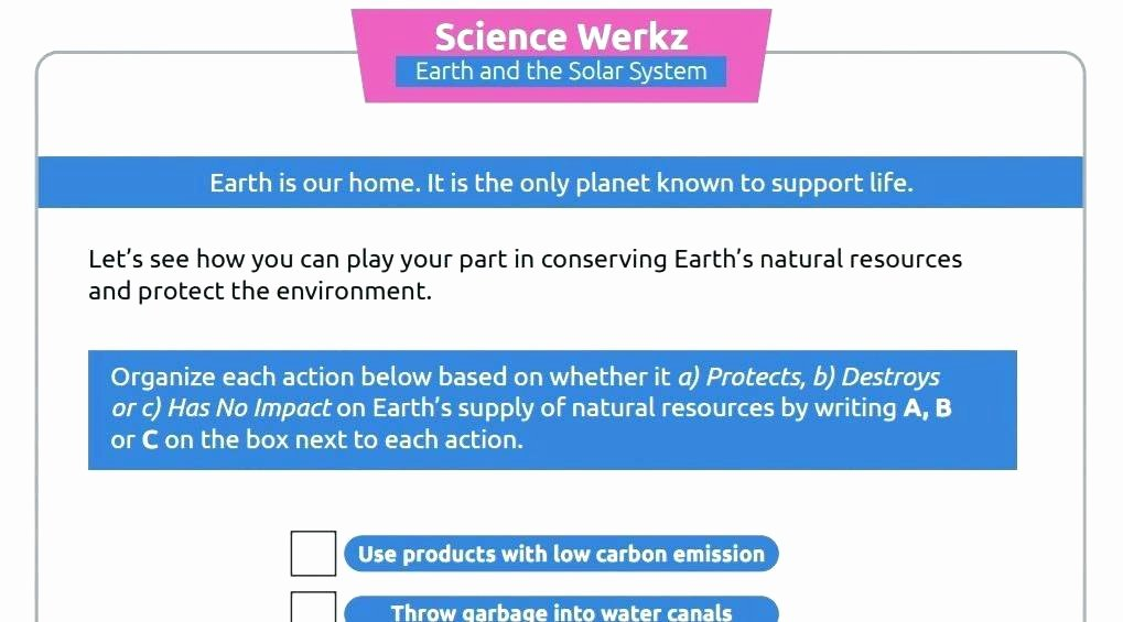 Natural Resources Worksheets Pdf Fresh Earth Science Lessons Resources Grade Worksheets Rock Cycle
