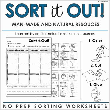 Natural Resources Worksheets Pdf Luxury Natural Resources Worksheets