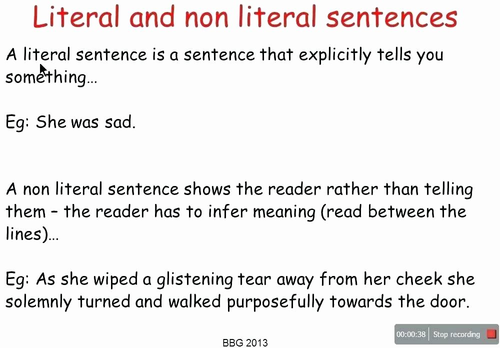 Non Literal Language Worksheets Download the Figurative Language Worksheets Examples Literal