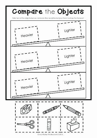 Nonstandard Measurement Worksheets First Grade Measurement Worksheets