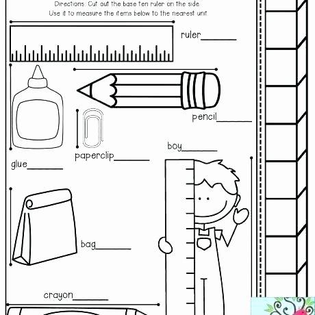 Nonstandard Measurement Worksheets Kindergarten Measurement Printable Worksheets How Tall are