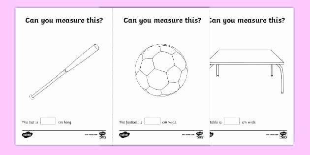 Nonstandard Measurement Worksheets Measurements Worksheets for Grade Length Conversion Loop