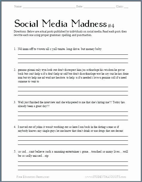 Note Taking Practice Worksheets Fresh 4th Grade Writing Worksheets